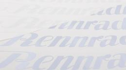 Chrom-Schriftzüge